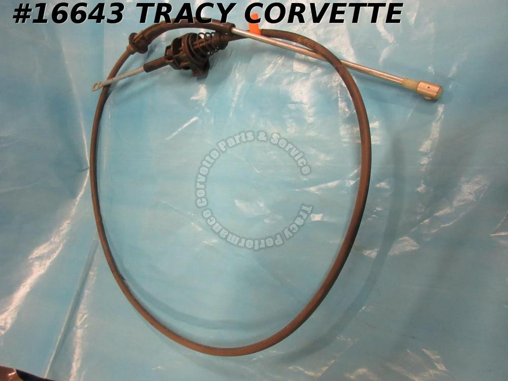 1984-1988 Corvette Ignition Lockout Cable GM 14076182 4+3 Manual Shift Interlock