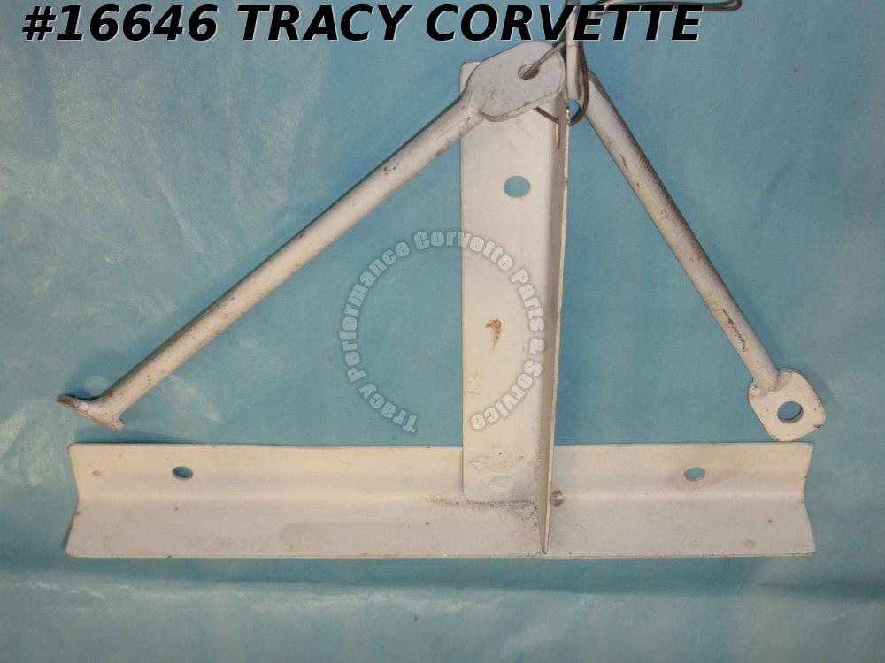 1966-1967 Corvette License Plate Bracket 3900341 Front 427 w/ Automatic And AC