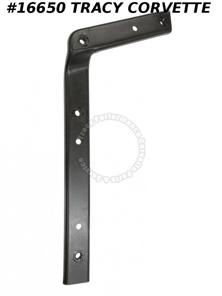 1973-1979 Corvette Fender Valance Reinforcement 331854 Lower Right
