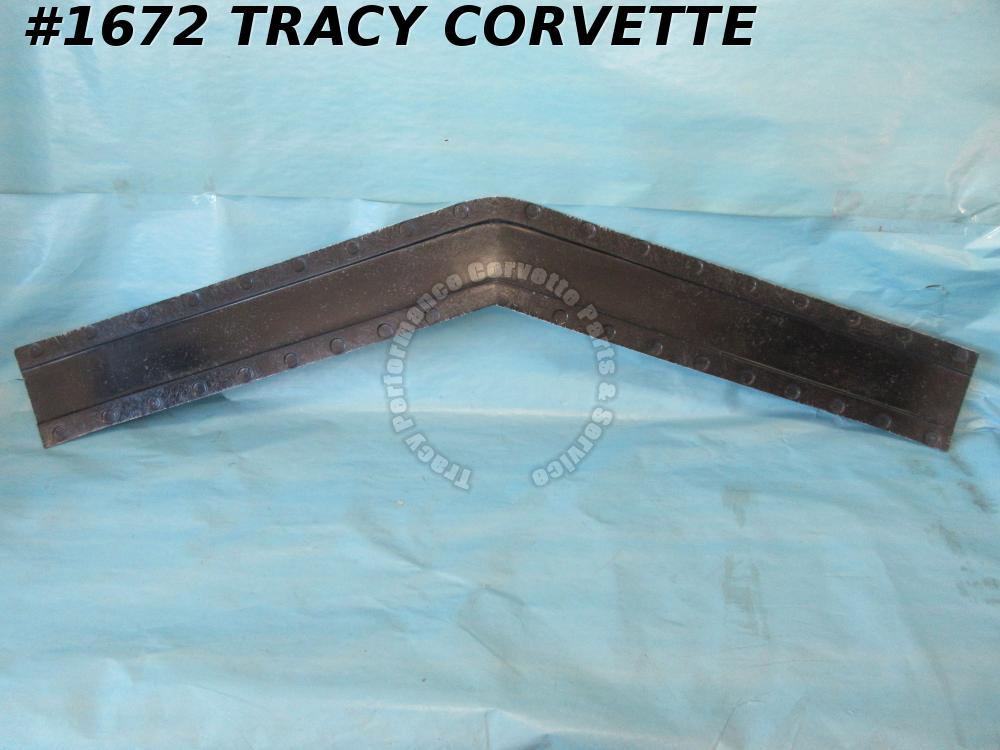 1968-1972 Corvette Header Bar Bonding Strip GM# 3930134 Headlight Support Pr Mld