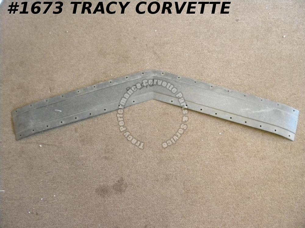 1968-1972 Corvette NOS 3930134 Headlight Nose Header Tie Bar Bonding Strip