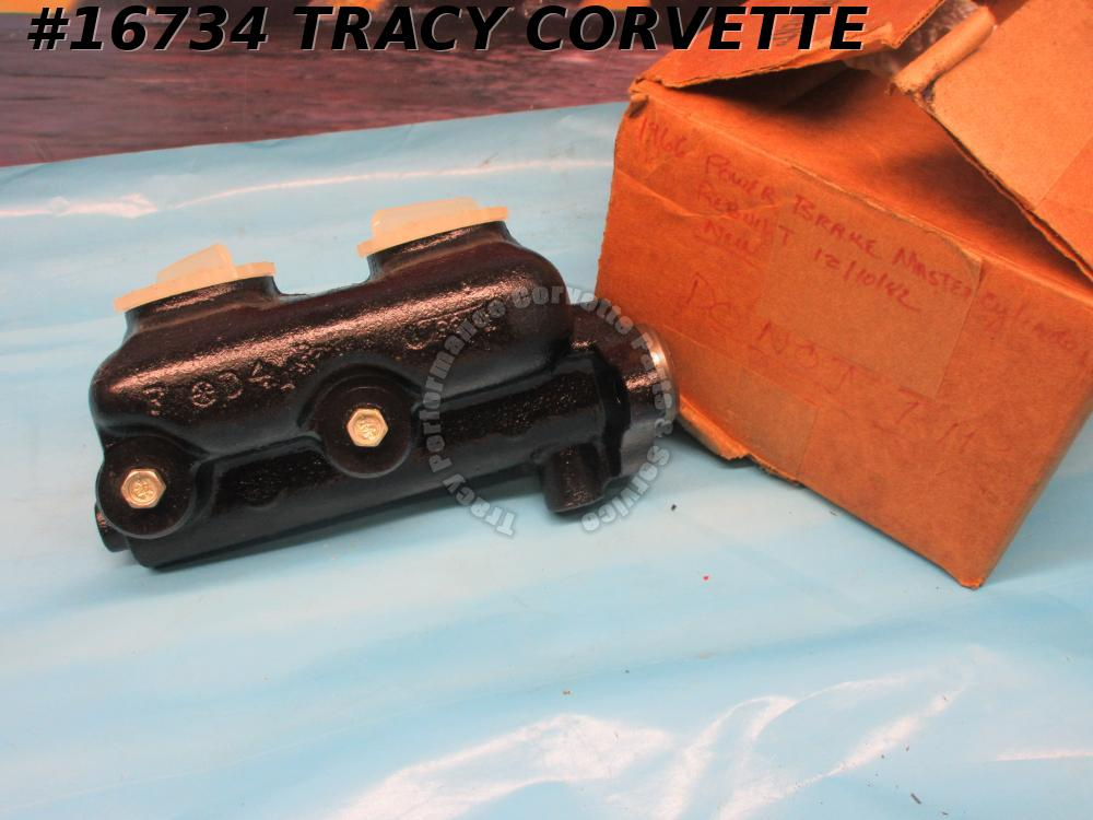 1965-1966 Corvette Power Brake Master Cylinder 5467005 5467084 Dated Originals