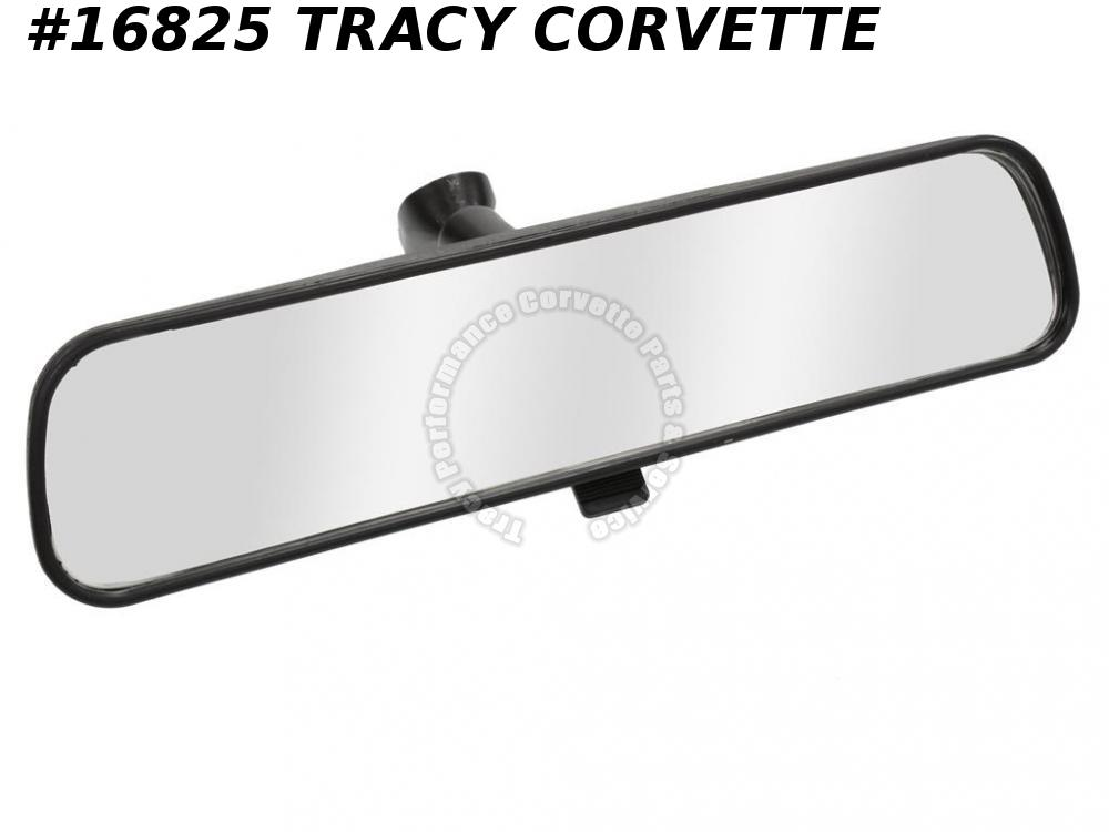 "1977-1982 Corvette Mirror Inside Rear View Day Night 10"" 14016166 Replacement"