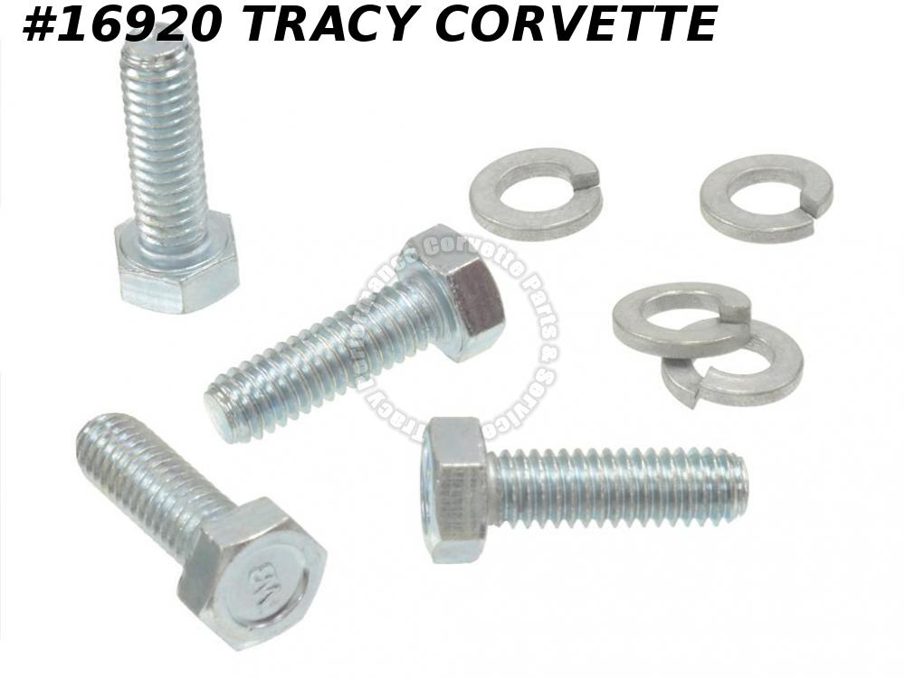 1965-1982 Corvette Stabilizer Sway Bar Bracket Bolt Set  9437636 Rear 8 Pieces