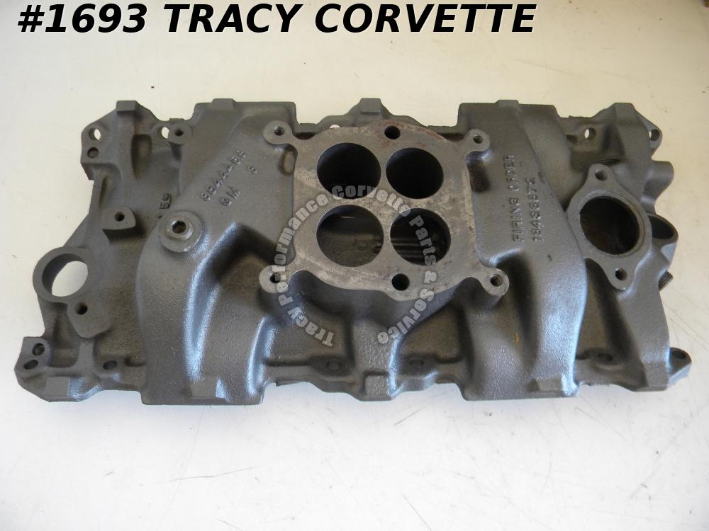 1964-1967 Corvette 3844459 Carter AFB Iron Intake Manifold Date Choice, 64 65 66