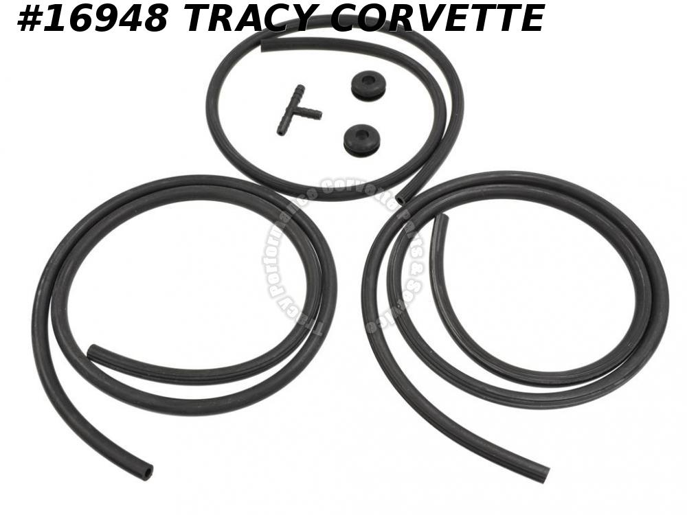 1975-1976 Corvette Windshield Washer Hose Set     ***In Stock Today***