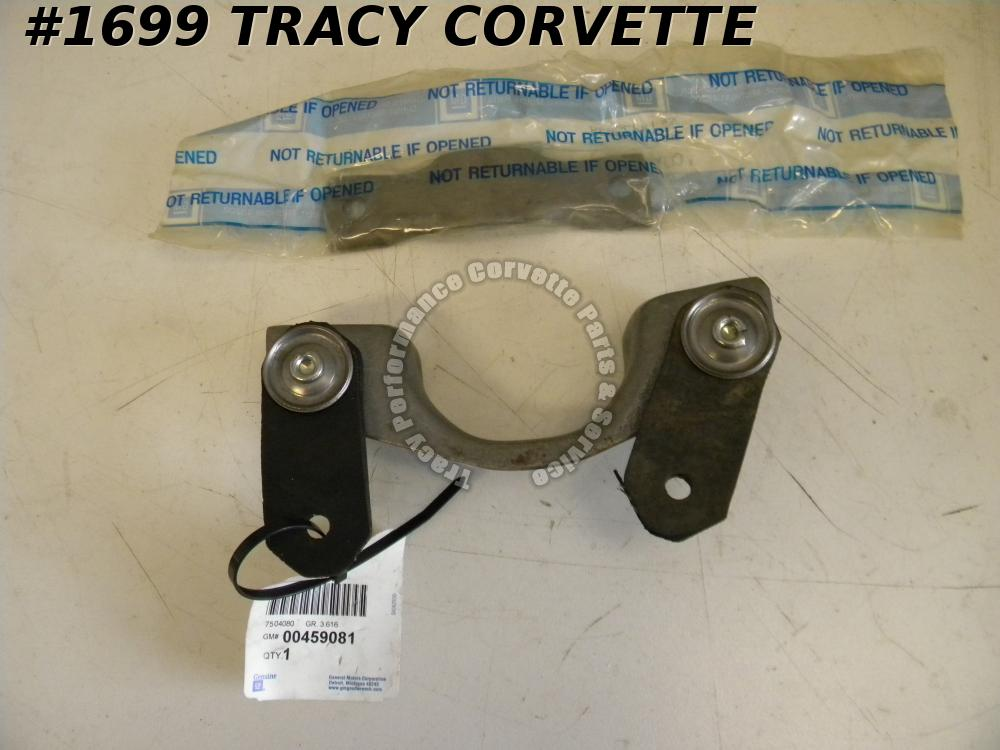 "1978-1982 Corvette 2 1/2"" Exhaust Hanger Asy Clamp NOS 459081 473039"