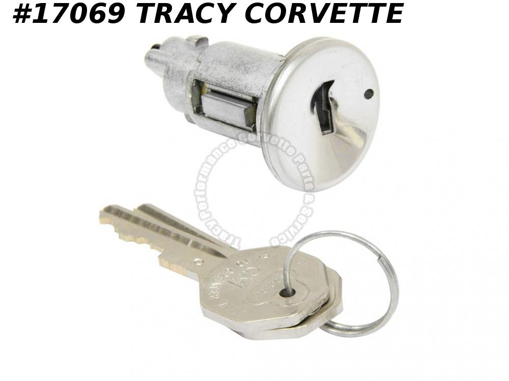 1968 Corvette Ignition Lock Cylinder With Key