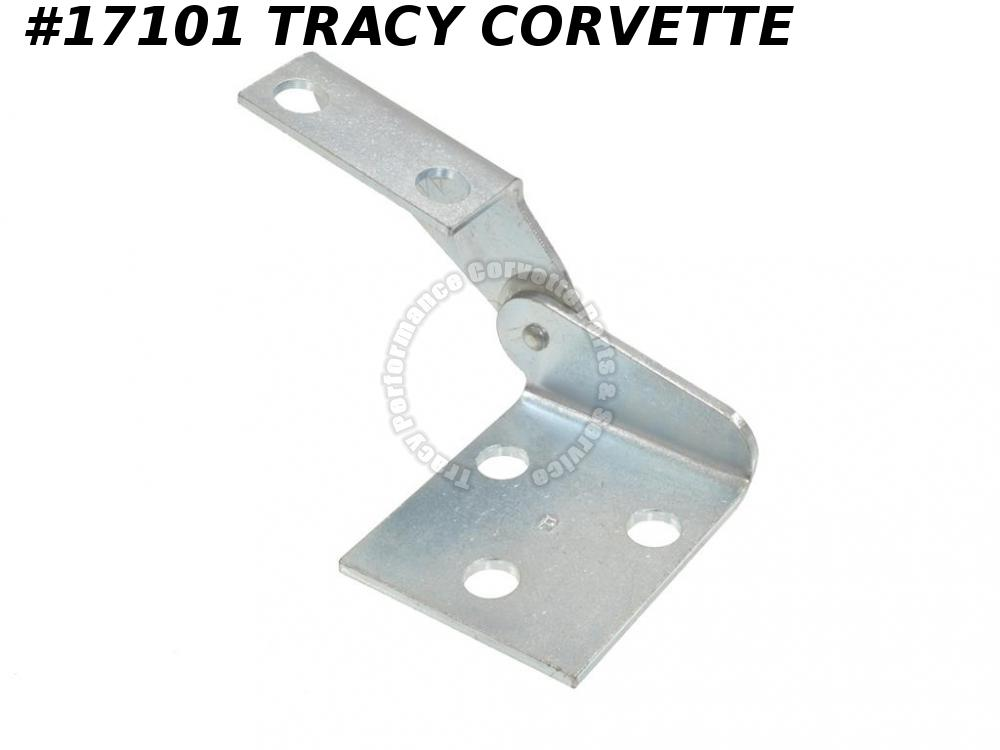 1963-1967 Corvette Hood Hinge 3797062 Right Correct Logo
