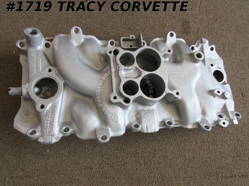1969 Corvette 3947801 Low Rise BBC Intake Manifold Oval Port 12-4-68 9-22-69