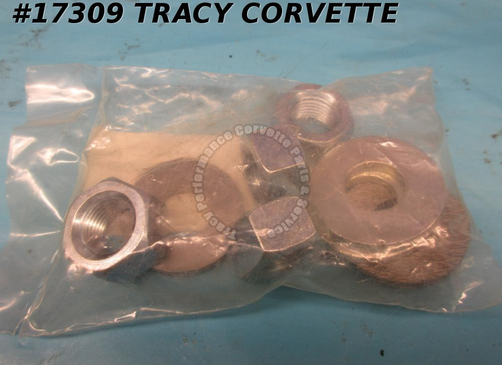 1953-1962 Corvette GM#124634 Rear Strut Rod Mounting Nuts and Washers