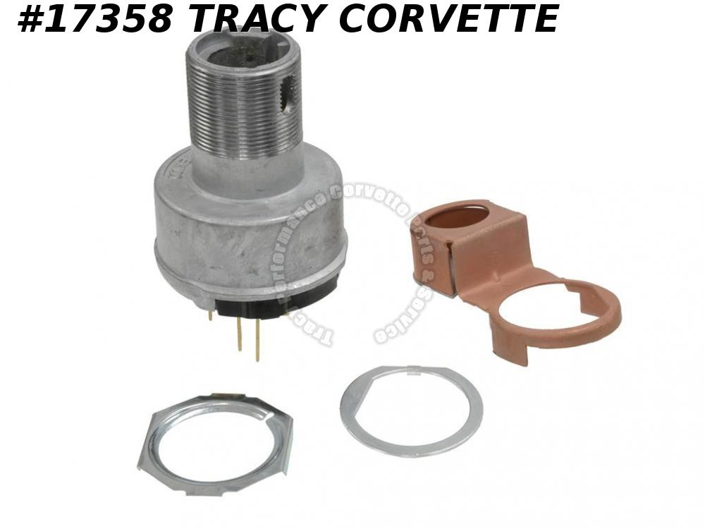1963-1964 Corvette Ignition Switch GM# 1116650 Replacement