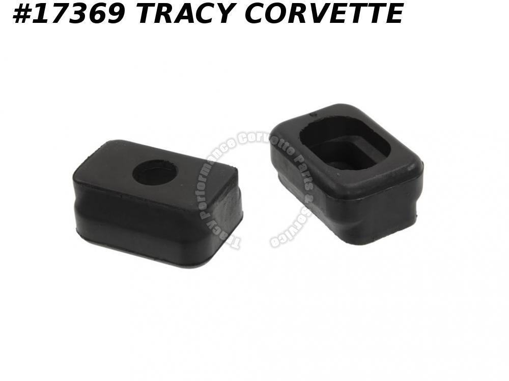 1953-1962 Corvette Front Engine Rubber Mount 3700332 3703873 Upper And Lower Set