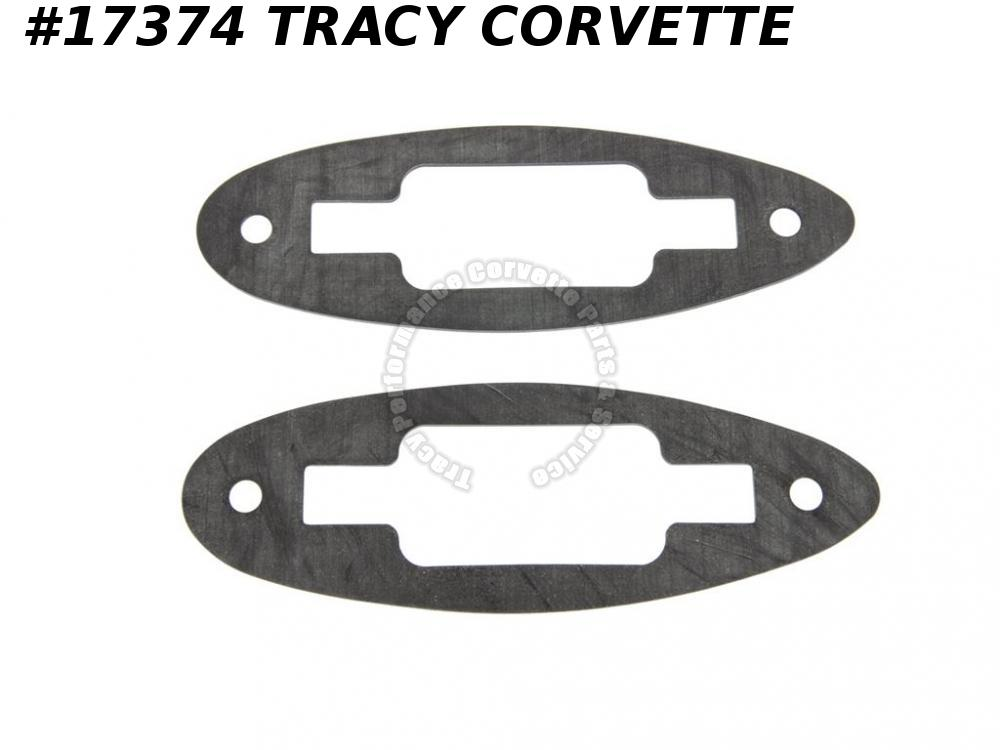 1956-1962 Corvette Soft Top / Convertible Top Latch Gasket - Set of 2