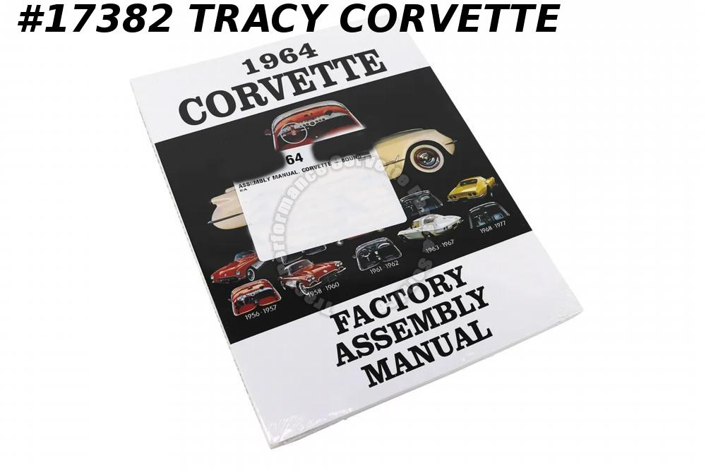 1964 Corvette Factory Assembly Manual  - Bound