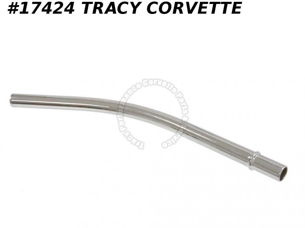1963-1964 Corvette Oil Dipstick Tube - 340 / 375 Hi-performance Chrome
