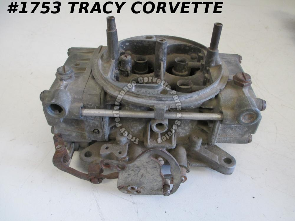 1955-80 Holley Used 4224 660 CFM Tunnel Ram Carb, Needs Rebuilding before Using
