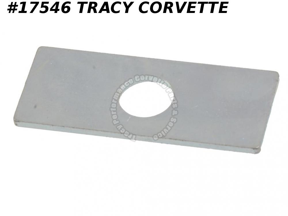 1968-1982 Corvette Hood Support Reinforcement Plate - Stainless Steel