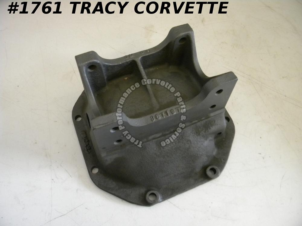 1963-1977 Corvette Used Original 3871375 Differential Rear Axle Cover H 24 6