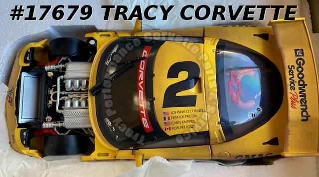2001 Corvette C5R Action 1:18 Collectible Model O'Connell Freon Kneifel Fellows