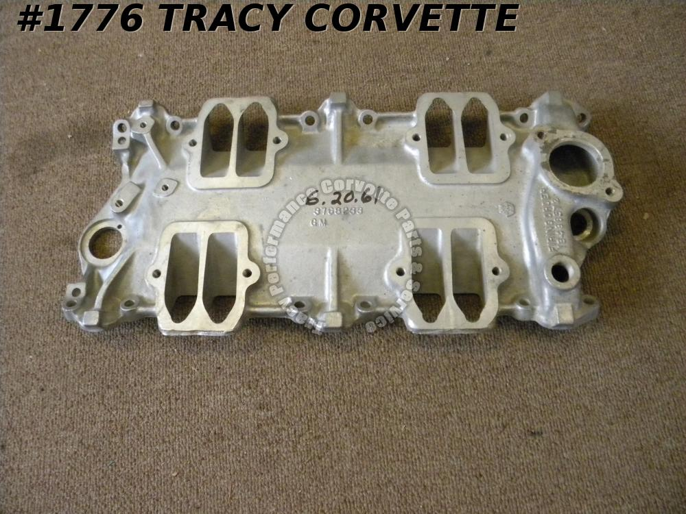 1959-1962 Corvette Good Used 3768233 FI Fuel Injection Intake Manifold Baseplate
