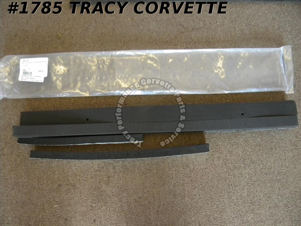 1969L-1972 Corvette New 350 Copper Radiator Support Seal 69L 70 71 72 (4 Pieces)