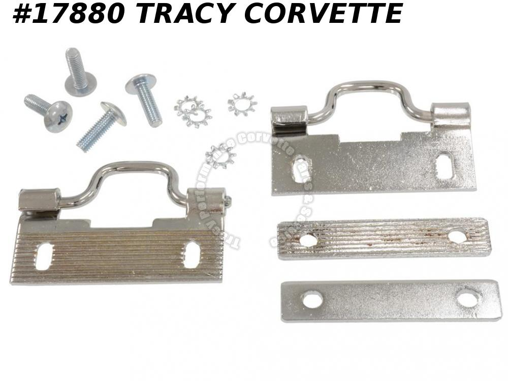 1956-1960 Corvette Soft Top Convertible Top Latch Rear Soft Top Latch On Top