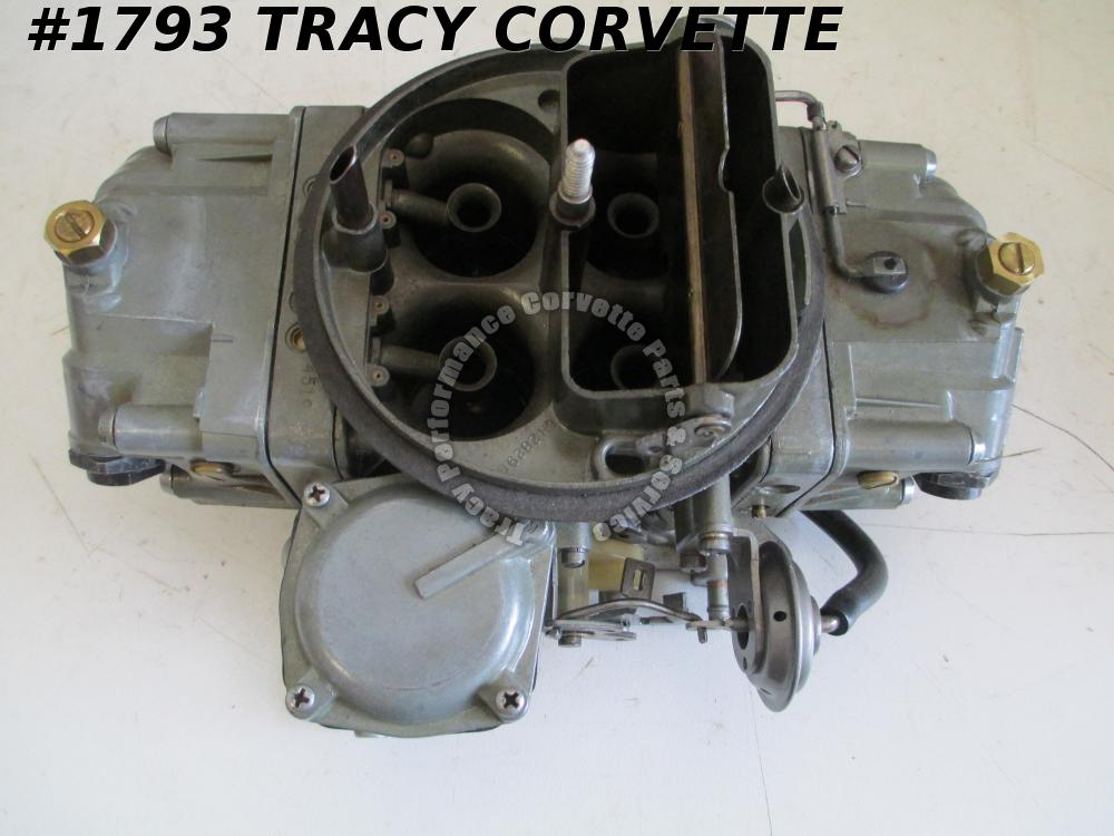 1966 Chevrolet Corvette 3886101-E1 3247 Holley 427 425 L72 Carburetor Dated 873