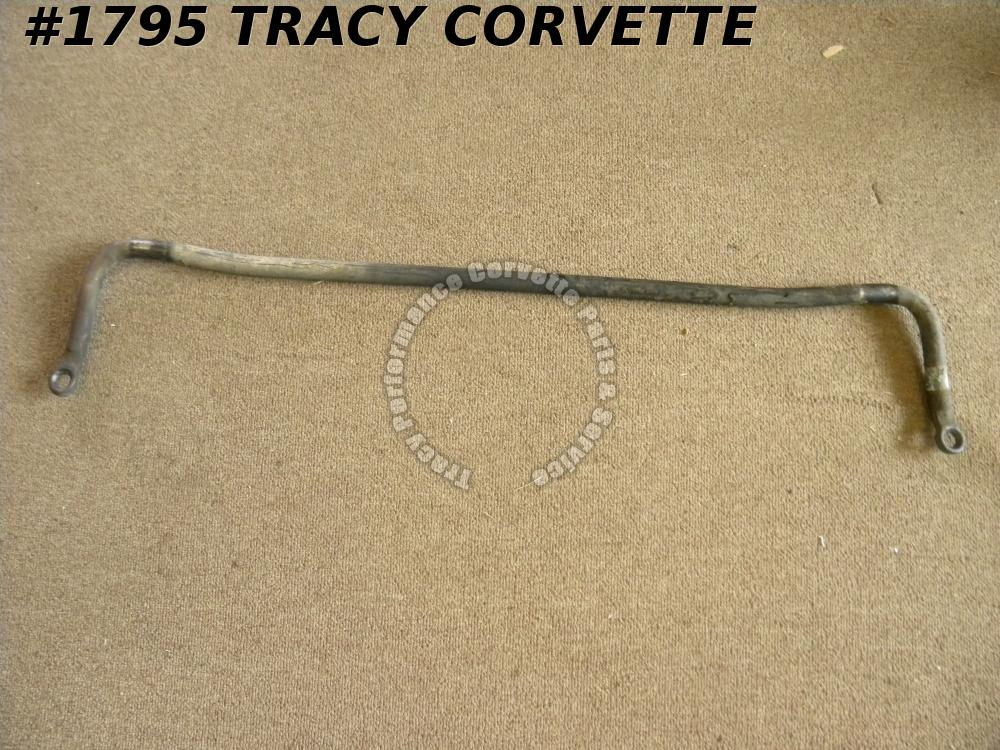 "1963-1979 Corvette Used Orig 3871318 7/8"" Front Sway Bar 63 64 65 66 67 68 69 70"