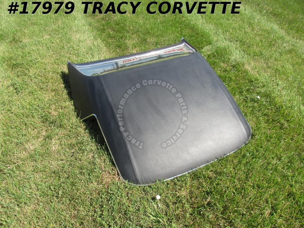 1968-1975 Corvette Convertible Hardtop Option C07   C08 Black Vinyl Hard Top