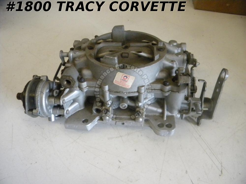1962 Chevrolet Corvette AFB 3269 Carter 340HP Carburetor Rebuilt Dated 58