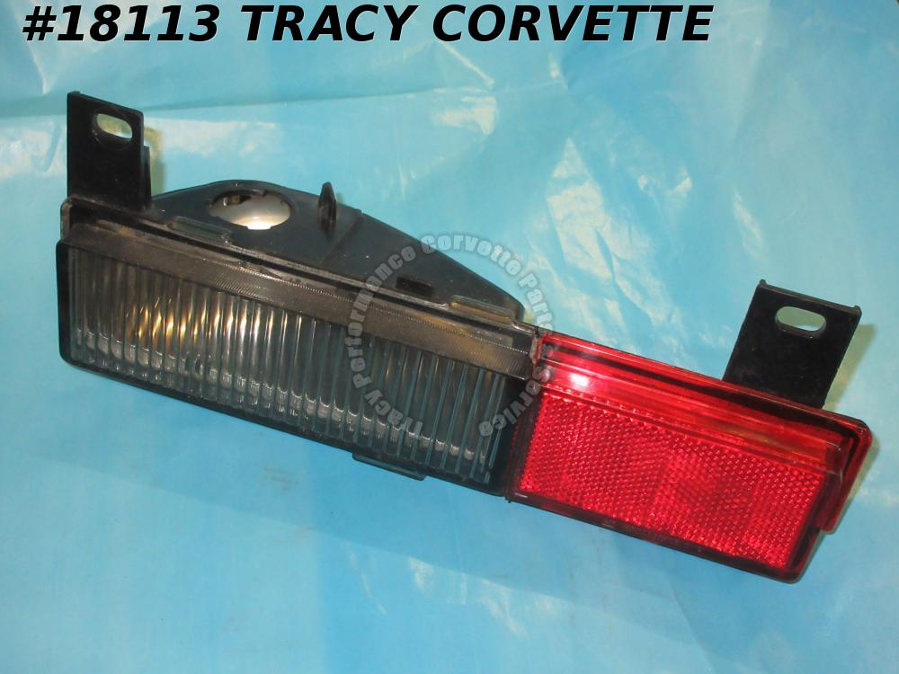 1984-1989 Corvette Rear Side Marker 16508519 Turn Signal Corner Light Left 1990