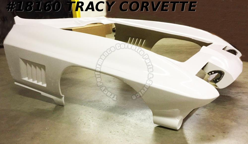 1967 Corvette Front End Clip One-Piece HLU Fiberglass Door 2 Door  **In Stock**