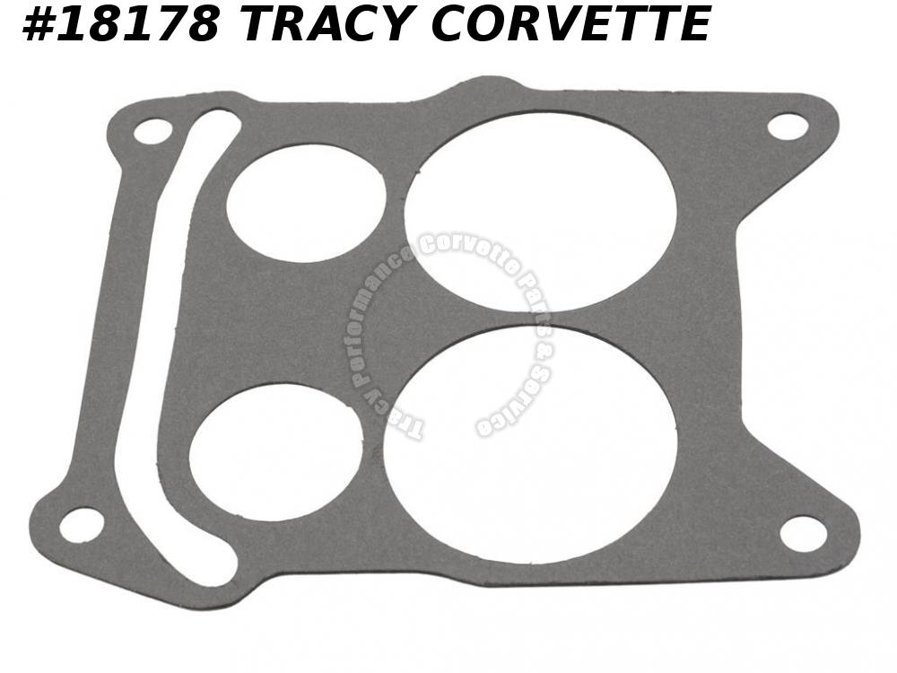 1968-1969 Corvette 3884574 Carburetor To Intake Manifold Base Gasket - Q-jet