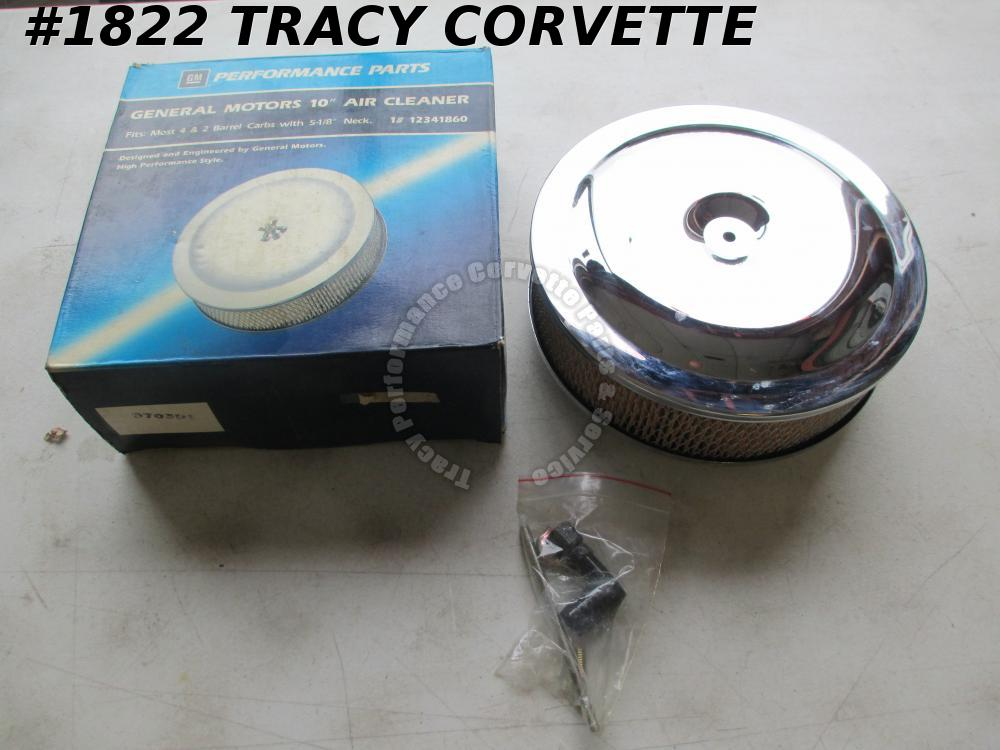 "NOS GM 12341860 10 Inch 5 1/8 "" Neck Air Cleaner & AC Type A773C Filter"