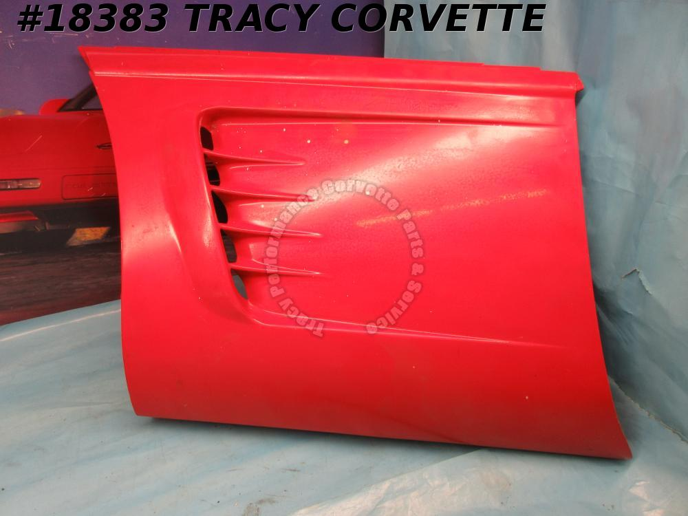 1995-1996 Corvette Fender Side Body Panel 10254395 Left Hand Original *Damaged*