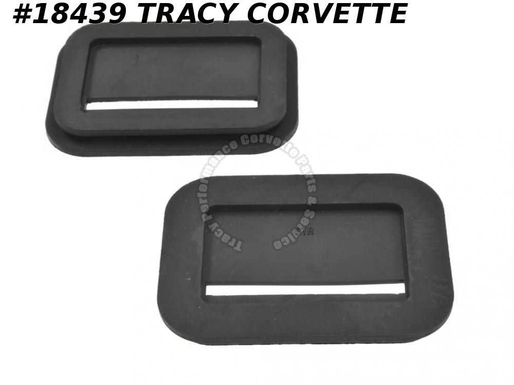 1958-1962 Corvette Bumper Seal GM# 3739319 Front - Set Of 2