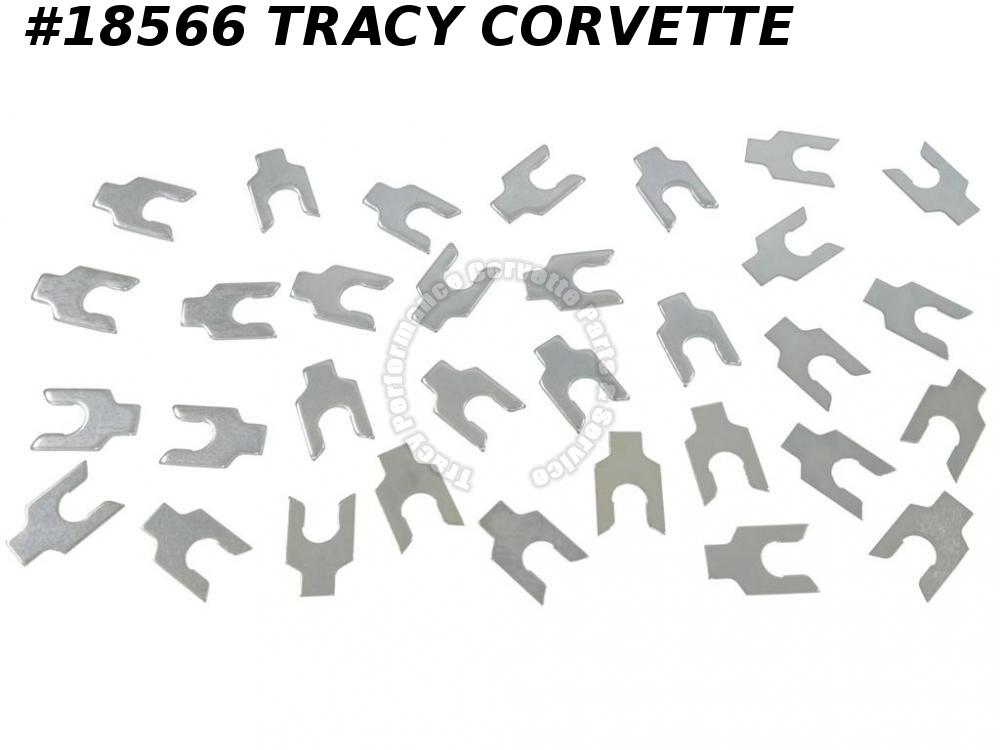 1963-1982 Corvette Front A-Arm Control Arm Shim Kit  Does Both Sides (32 Pieces)