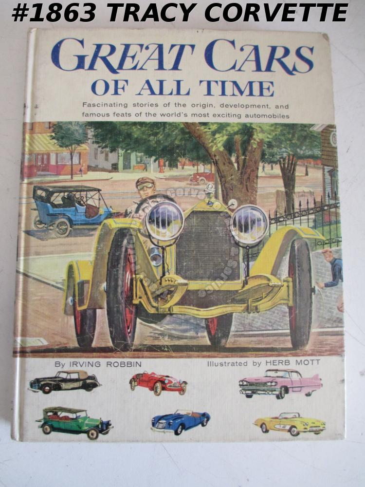 Great Cars Of All Time Irving Robbin Herb Mott Stanley Steamer Locomobile 1960