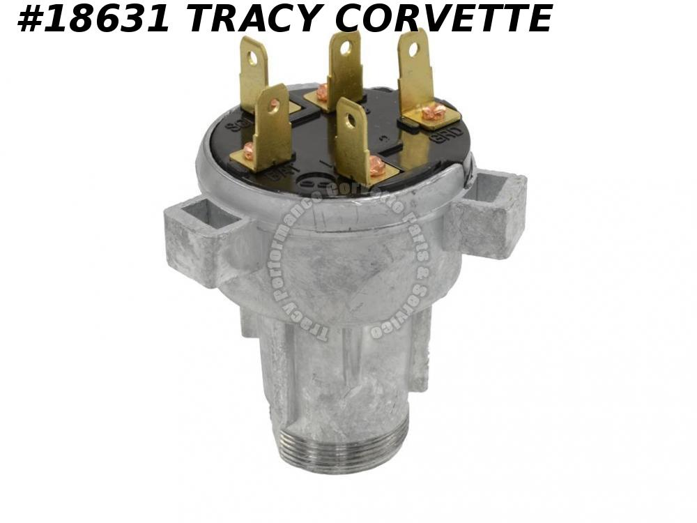 1966-1967 Corvette Ignition Switch GM# 1116686 Replacement