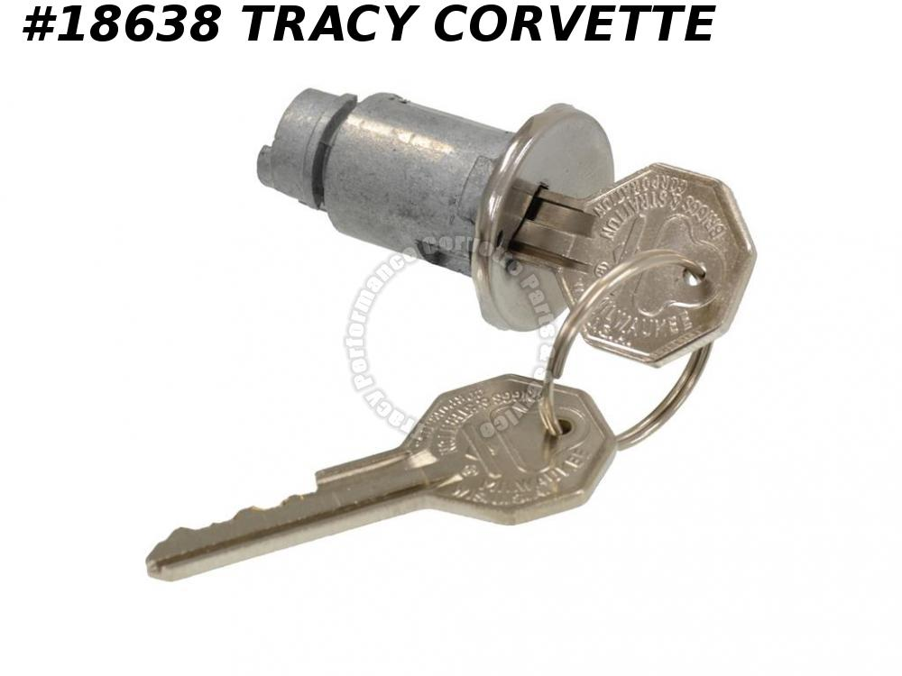 1965 Corvette Ignition Lock Cylinder - With Key