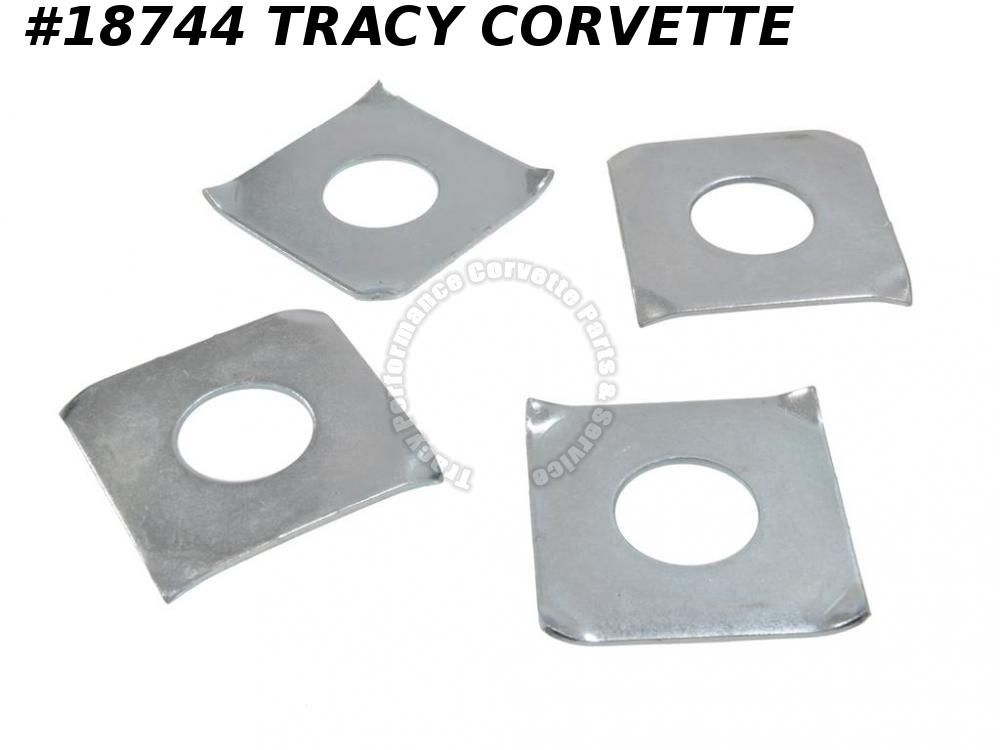 1963-1982 Corvette Underbody Mount Shim GM# 3712559 Set Of 4 ***Used Originals***