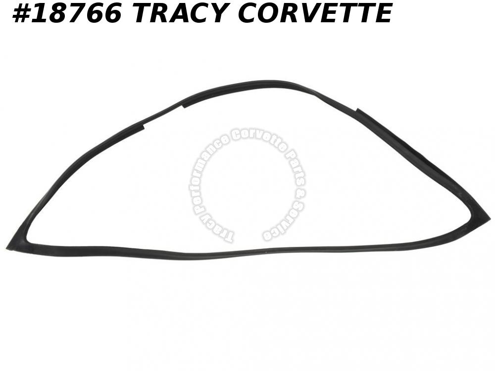1968-1972 Corvette GM# 3964140 Removable Rear Window Weatherstrip