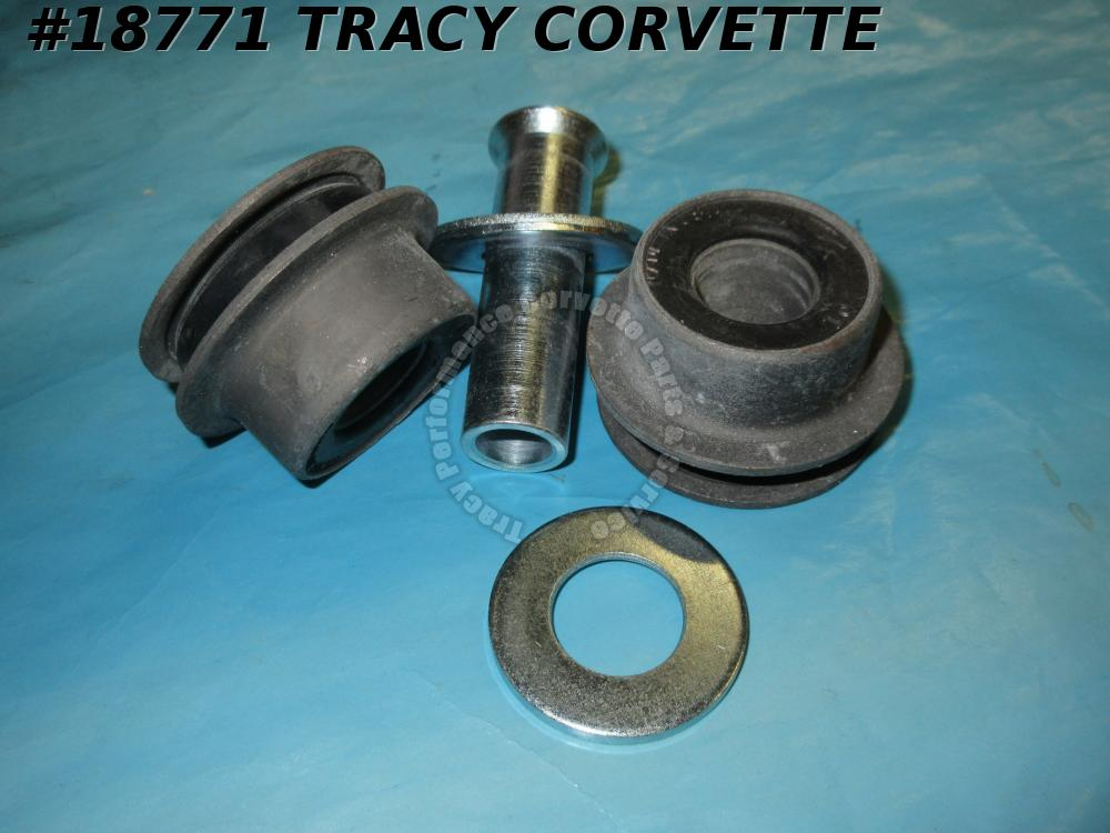 1963-1982 Corvette Rear Trailing Control Arm Bushing Kit Polyurethane - One Side