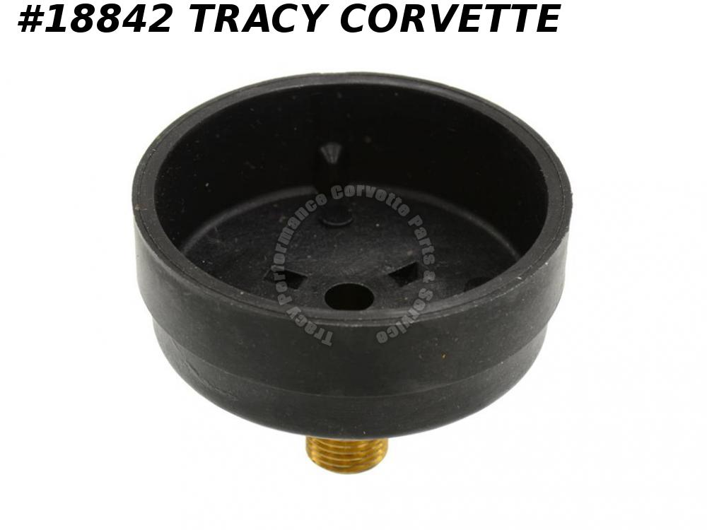 "1962-1965 Corvette Choke Cover - AFB Stamped ""Counter Clockwise For Lean"""
