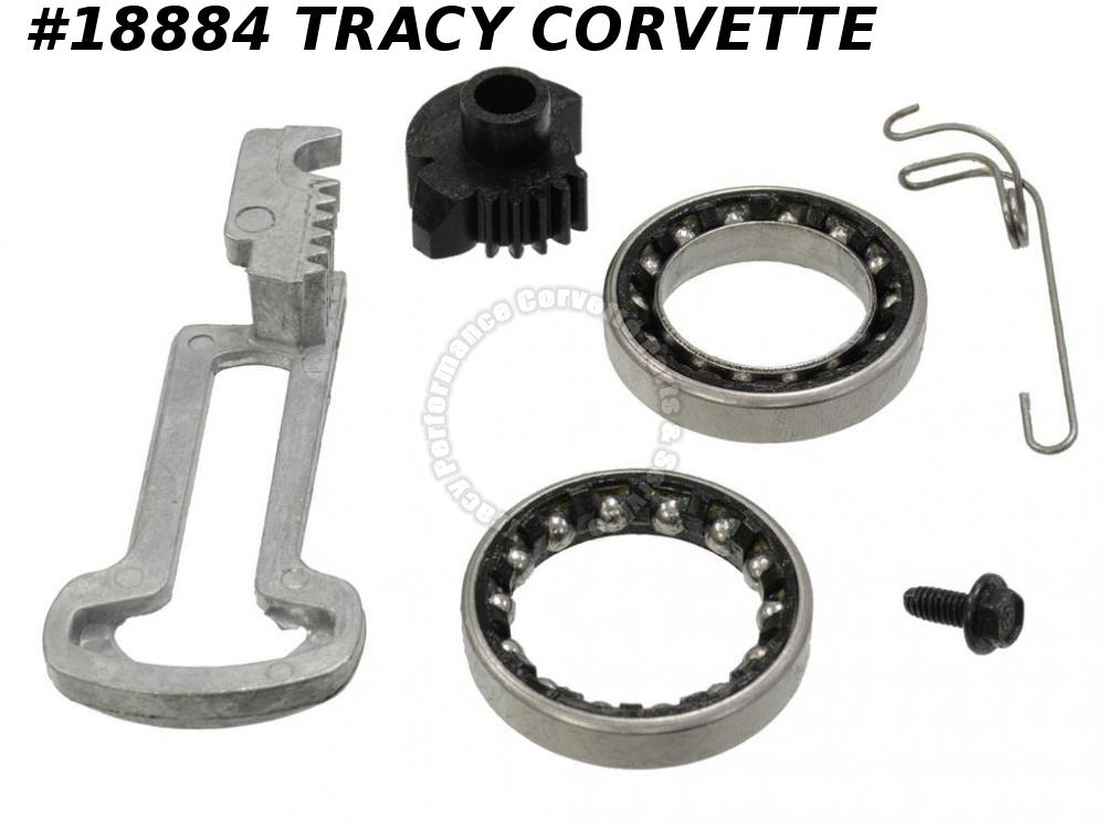 1984-1996 Corvette 7827156 Ignition Switch Actuator Rack Gear Kit w/ Upr Bearing
