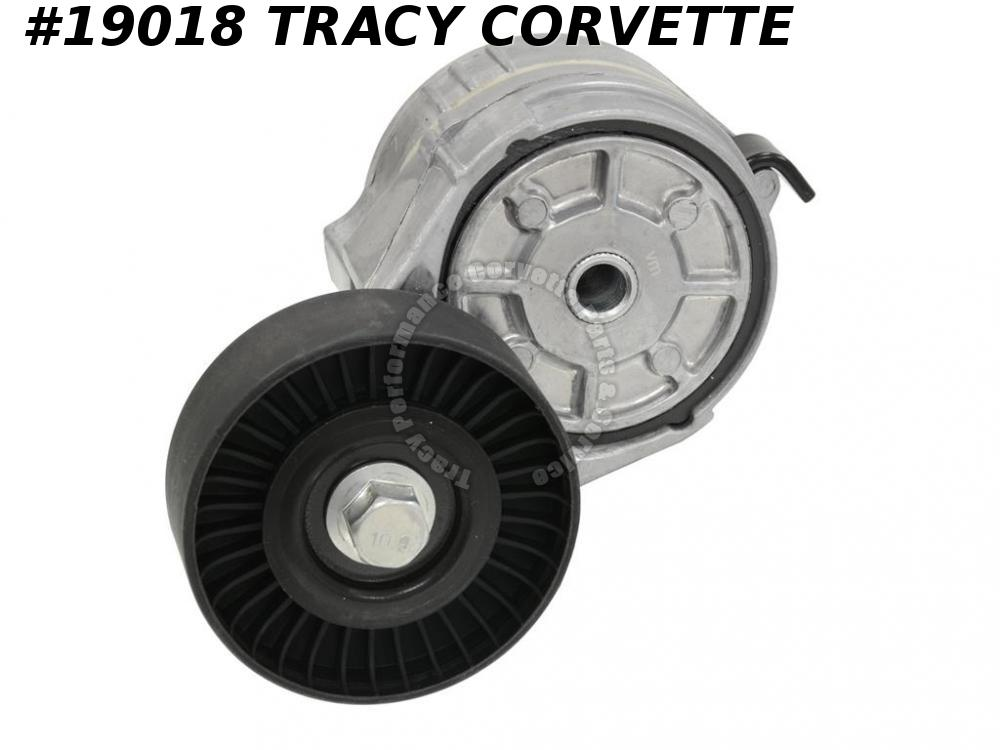 1993-1996 Corvette 10227507 Engine Drive Belt Tensioner Flat Pulley Idler LT1