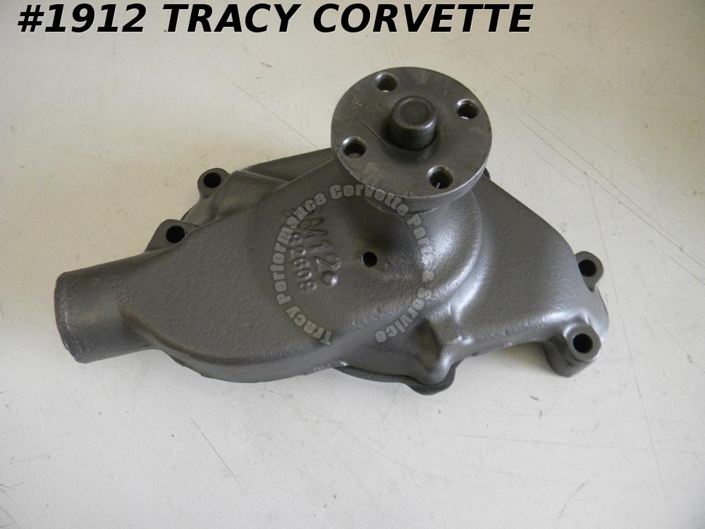 1963-1964 Corvette GM# 3782608 Water Pump 250 300HP 327 Chevrolet UnDated