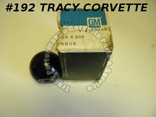 1955-1962 Corvette 390749 NOS Black Auto Shift Knob 1965 Olds 442 55 56 57 58-62