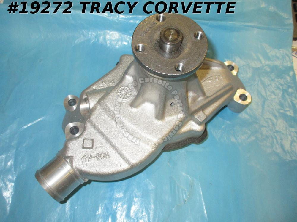 1984-1991 Corvette Water Pump Duralast WP-595 ASC Industries 5.7L-V8